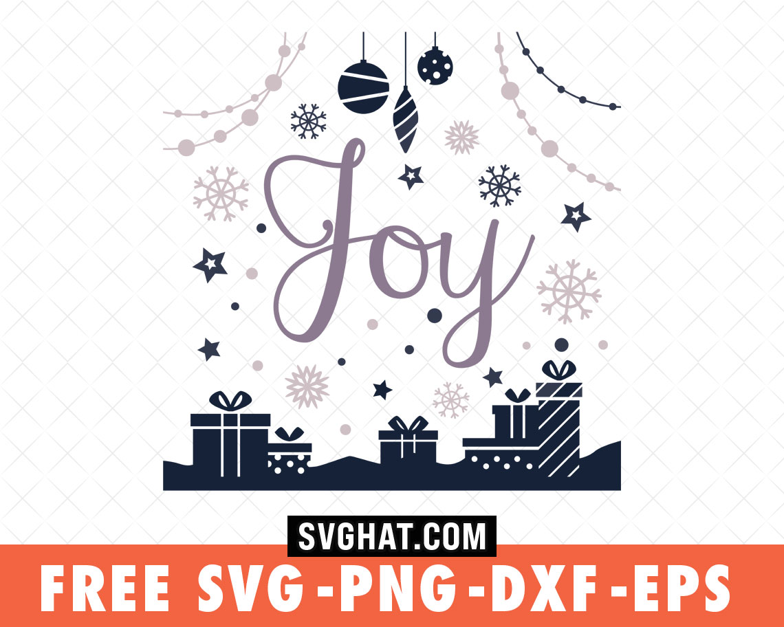 Download Christmas Joy Christmas SVG Files Free for Cricut and ...