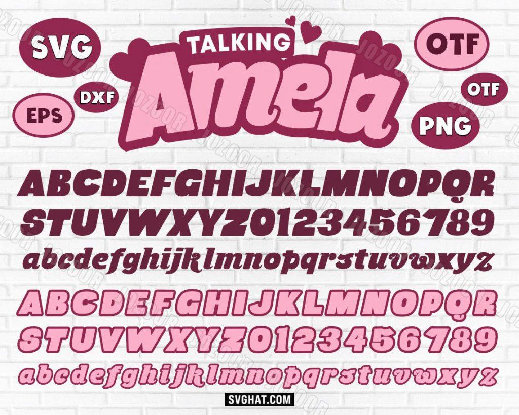 Talking Tom Angela Font SVG Files Bundle for Cricut, Silhouette, Talking Angela font, Talking Tom Font Birthday SVG, Cartoon Font, Font for Cricut, Color SVG Font, Color Font, SVG Fonts, talking angela, talking angela font, angela font, talking tom fonts, talking tom SVG, SVG font, birthday SVG, talking friends, color font, SVG fonts, talking tom, Cricut fonts, kids font, talking tom and friends font, talking tom and friends SVG, talking tom cat font SVG, talking tom SVG for Cricut, Talking Tom Angela Font SVG files, Talking Tom Angela Font cut files, talking tom and friends font, graphik font, Talking Angela Fonts