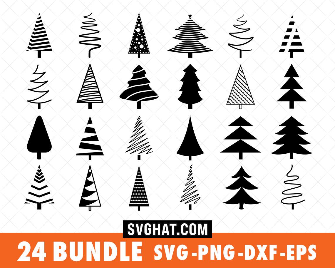 Download Christmas Tree SVG Bundle Files for Cricut, Silhouette ...